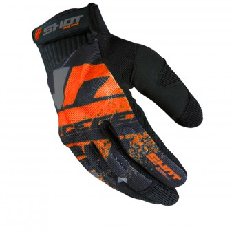 Cross Handschuhe SHOT Drift Neon Orange CE