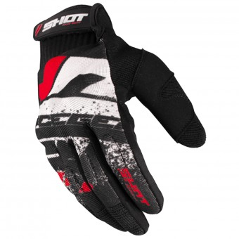 Cross Handschuhe SHOT Drift Red CE