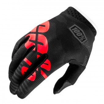 Cross Handschuhe 100% Itrack Black Camo