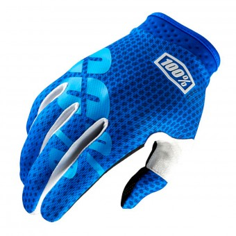 Cross Handschuhe 100% Itrack Blue