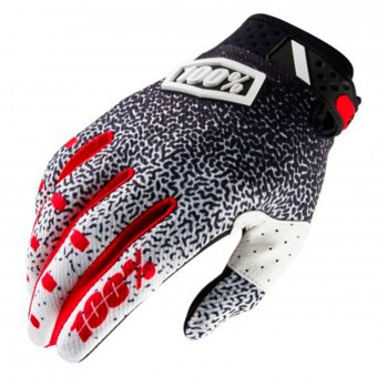 Cross Handschuhe 100% Ridefit Black White