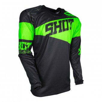 Cross Trikot SHOT Contact Infinite Neon Green