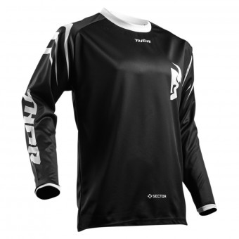Cross Trikot Thor Sector Zones Black