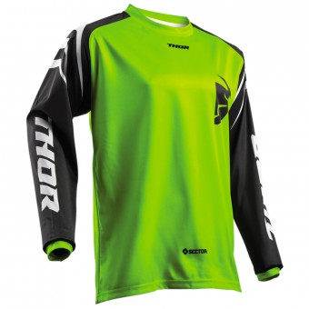 Cross Trikot Thor Sector Zones Lime
