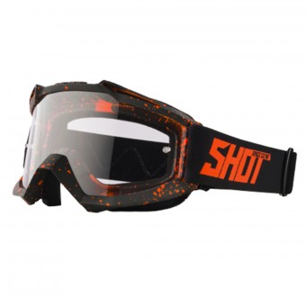Crossbrille SHOT Assault Drop Neon Orange Matt
