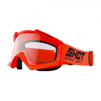 Crossbrille SHOT Assault Neon Orange