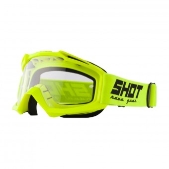 Crossbrille SHOT Assault Neon Yellow