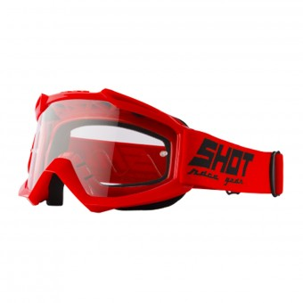 Crossbrille SHOT Assault Red