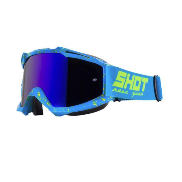 Shot Assault Drop Crossbrille Blau fKPy27