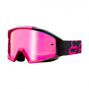 Crossbrille FOX Main Master Black Pink 001