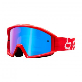 Crossbrille FOX Main Race Red Iridium Blue