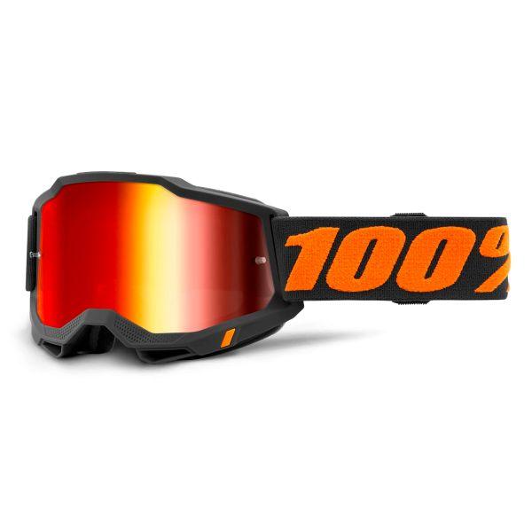 Crossbrille 100% Accuri 2 Chicago - Iridium Red