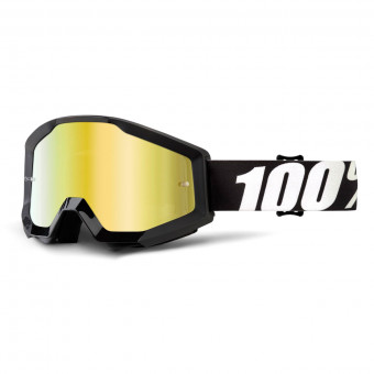 Crossbrille 100% Strata Mud Outlaw Tear off Clear Lens