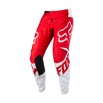 Cross Hose FOX 180 Race Red White Pant 002