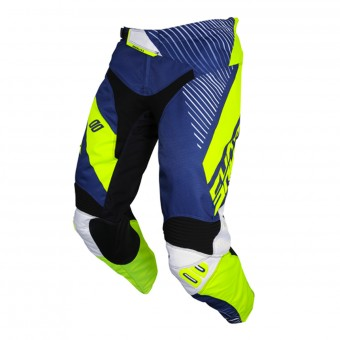Cross Hose SHOT Aerolite Optica Blue Neon Yellow Pant