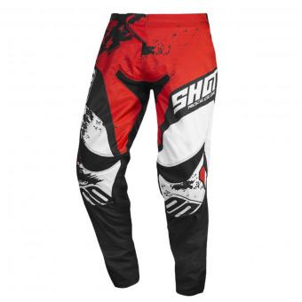 Shot X10 2.0 Black Neon Motocross Stiefel