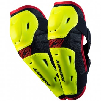 Cross Ellbogenprotektoren Kenny Elbow Guards Neon Yellow - Kinder