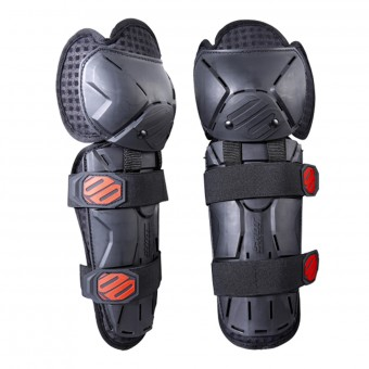 Cross Knieprotektoren SHOT Optimal Knee Black Red