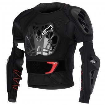 Brustpanzer Alpinestars Bionic Jacket Black Red - Kinder
