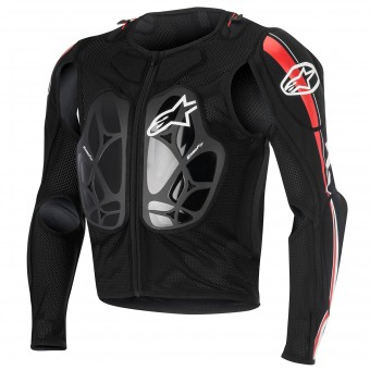Brustpanzer Alpinestars Bionic Pro Black Red