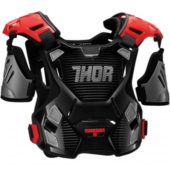 Brustpanzer Thor Guardian Black Red - Kinder