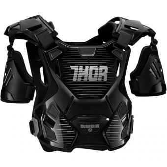 Brustpanzer Thor Guardian Black Silver- Kinder