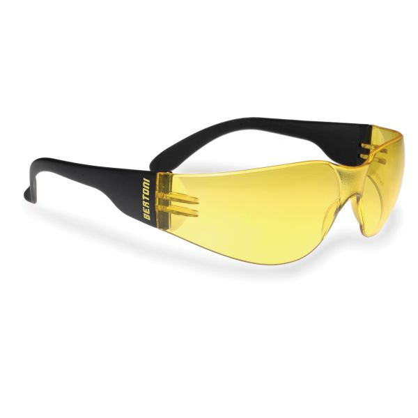 Bertoni AF152A, Sonnenbrille Antifog Schwarz/Orange