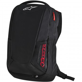 Motorrad-Rucksack Alpinestars City Hunter Backpack Black Red