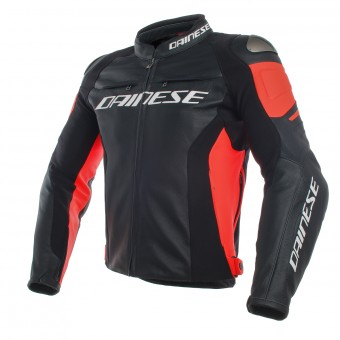 Motorradjacke Dainese Racing 3 Black Red