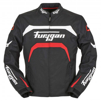 Motorradjacke Furygan Arrow Black White Red