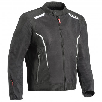 Motorradjacke Ixon Cool Air C Black White