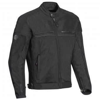 Motorradjacke Ixon Filter Black