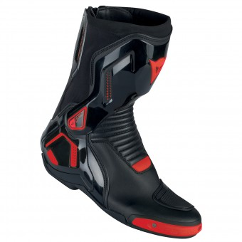 Motorradstiefel Dainese Course D1 Out Black Fluo Red