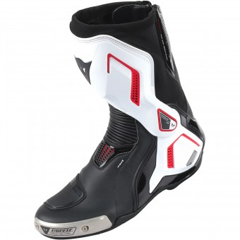 Motorradstiefel Dainese Torque D1 Air Black White Red