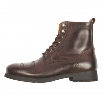 Motorradschuhe Helstons Travel Leather Brown