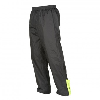 Regenhose Furygan Raint Pant Black Yellow Fluo