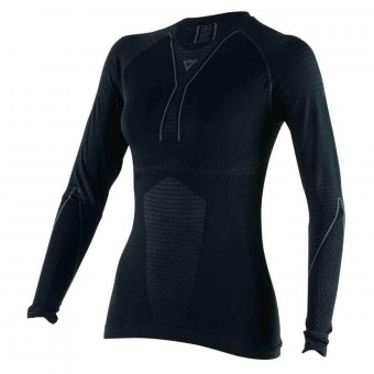 Kaltwetter-Unterziehtop Dainese D-Core Thermo Tee LS Lady Black Anthracite