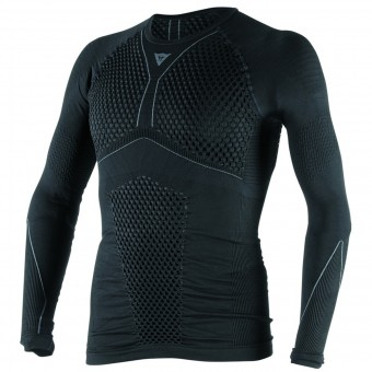 Kaltwetter-Unterziehtop Dainese D-Core Thermo Tee LS Black Anthracite