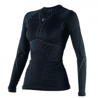 Kaltwetter-Unterziehtop Dainese D-Core Dry Tee LS Lady Black Anthracite
