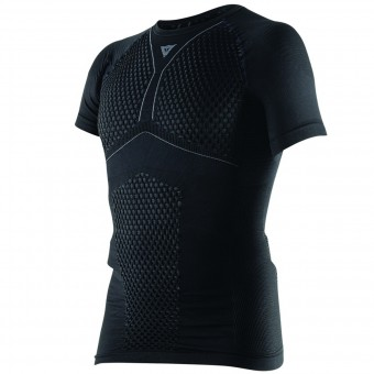 Kaltwetter-Unterziehtop Dainese D-Core Thermo Tee SS Black Anthracite