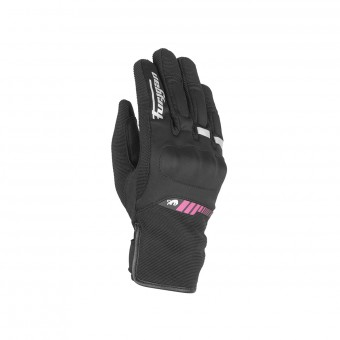 Motorradhandschuhe Furygan Jet All Season Kid Black Pink