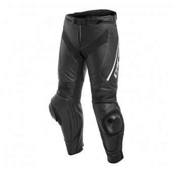 Motorradhose Dainese Delta 3 Perforated Black White