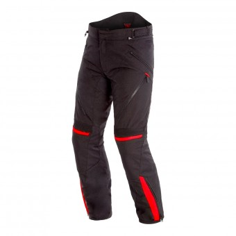Motorradhose Dainese Tempest 2 D-Dry Pants Black Tour Red