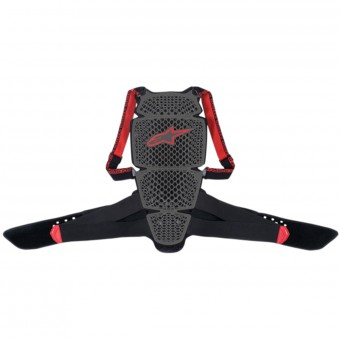 Motorrad-Rückenprotektor Alpinestars Nucleon KR-Cell Smoke Black Red