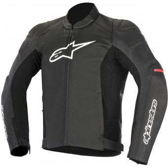Motorradjacke Alpinestars SP-1 Leather Black Red