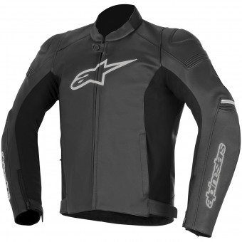 Motorradjacke Alpinestars SP-1 Leather Black