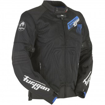 Motorradjacke Furygan Hurricane Vented Black Blue