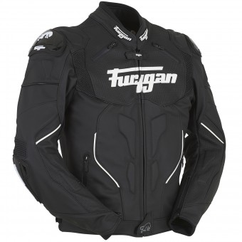 Motorradjacke Furygan Raptor Black White