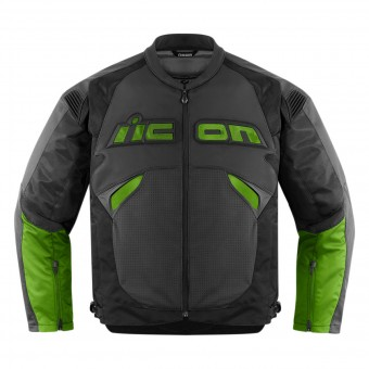 Motorradjacke ICON Sanctuary Jacket Green