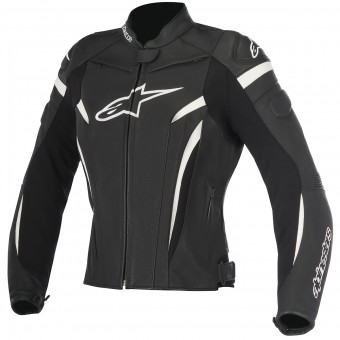 Motorradjacke Alpinestars Stella GP Plus R V2 Black White